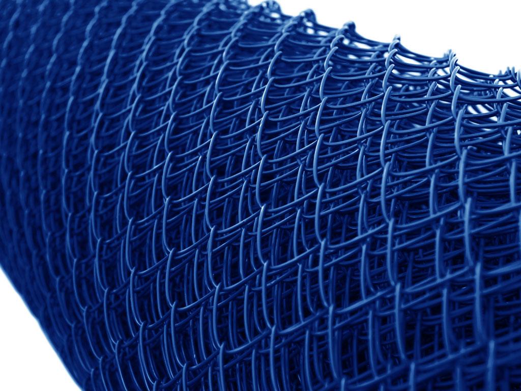 Barevné pletivo modrá barva RAL 5002