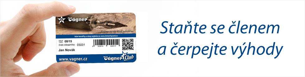 OD Vágner klubové karty - Vágner Club Card