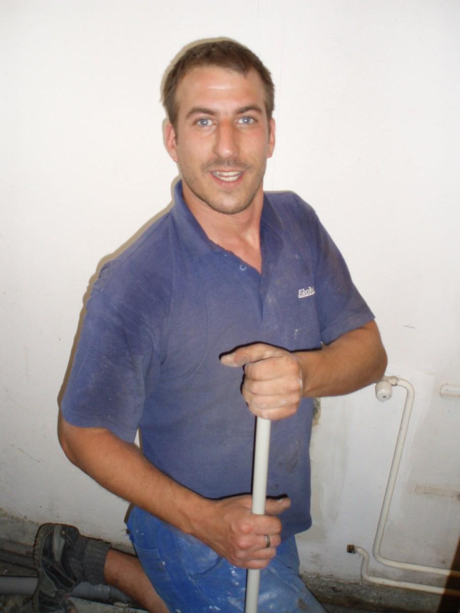 Martin Huda rekonstrukce koupelny