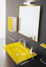 Transparentní materiály koupelny