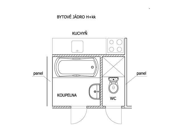 Bytové jádlo H+kk