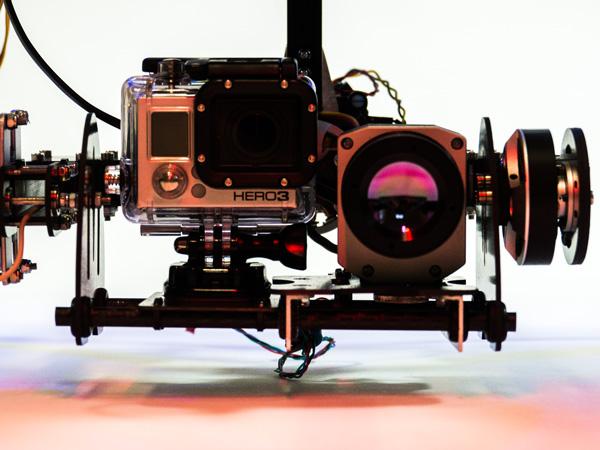 infrakamera Optris PI 640 na dronu