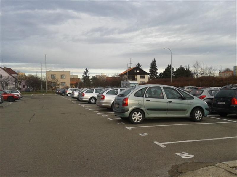 parkoviště Valentova