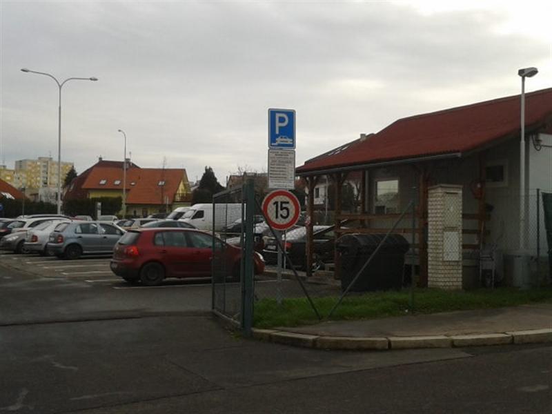 parkoviště Leopoldova