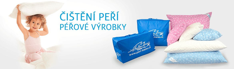 Logo fy Peří Mareš