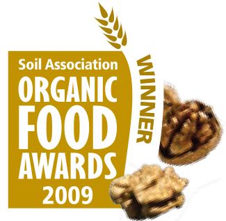 Foto ocenění Organic Food Awards 2009 s vlašskými ořechy