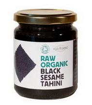 Raw Tahini černá pasta ze sezamu