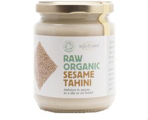 Raw Tahini bílá pasta ze sezamu