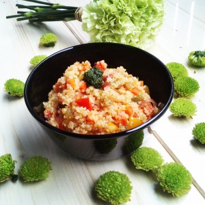 Foto zdravé stravy v misce