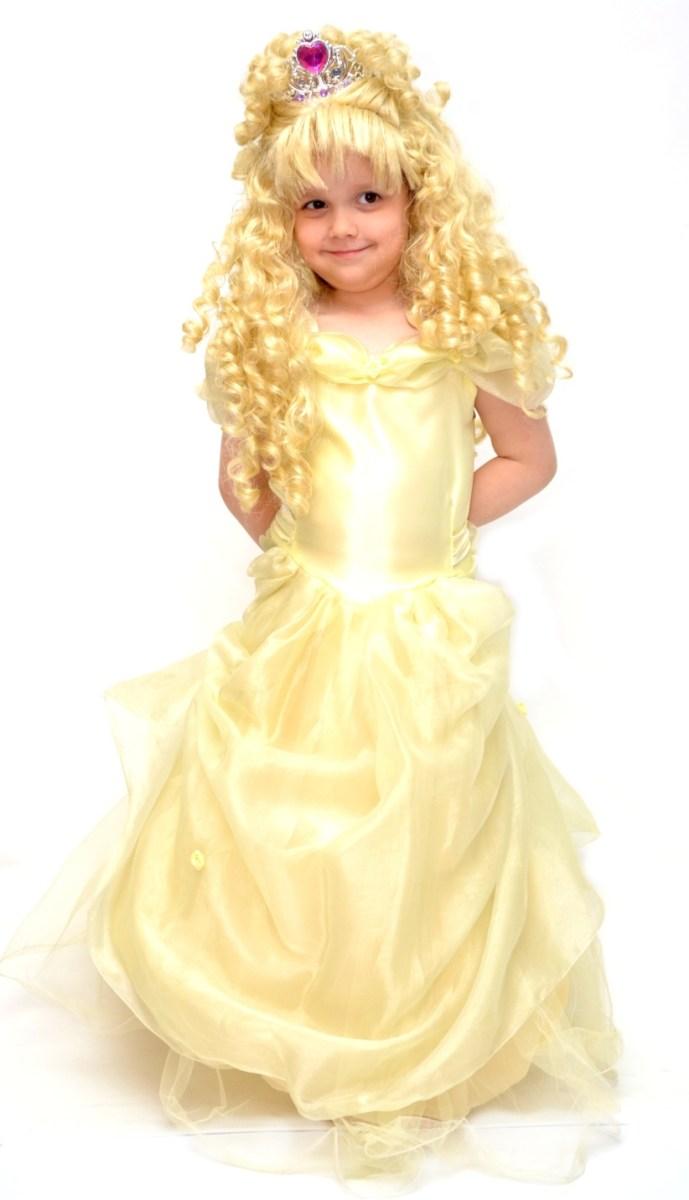 žlutá princezna
