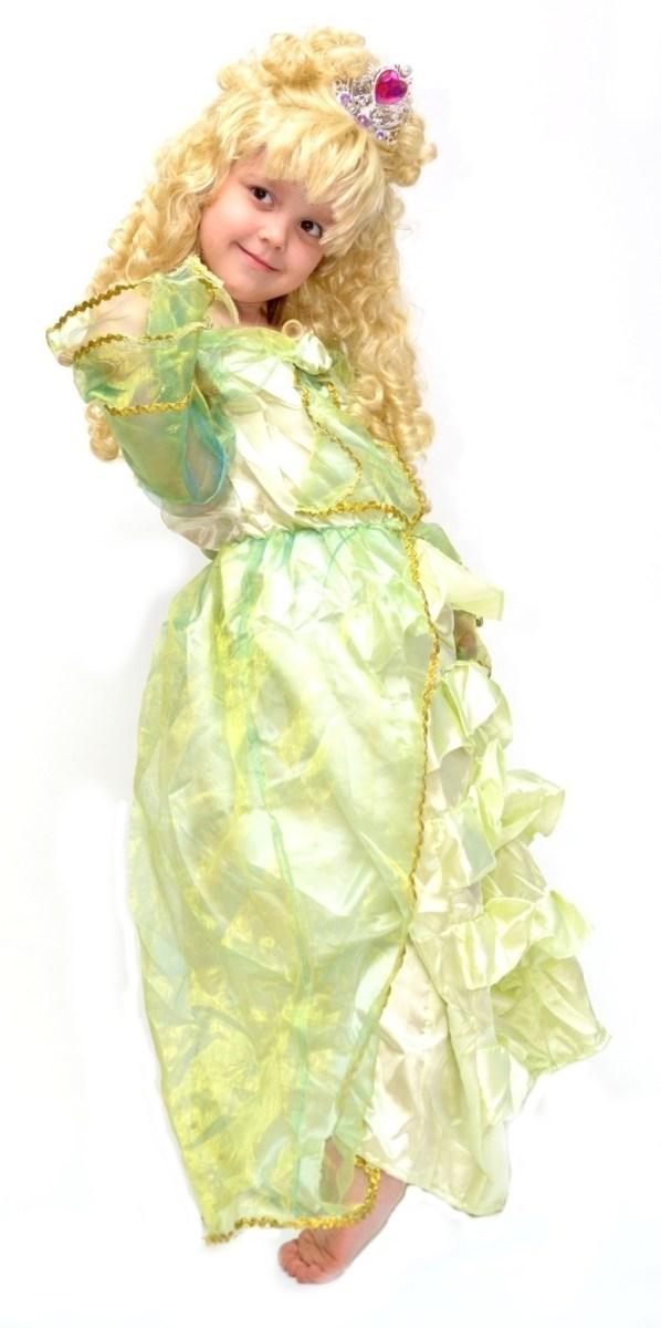 zelená princezna