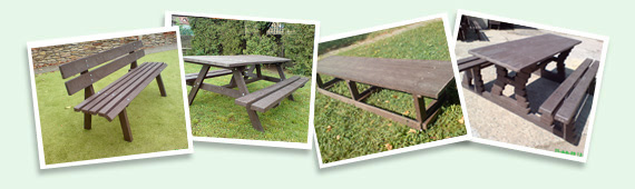 lavičky a stoly