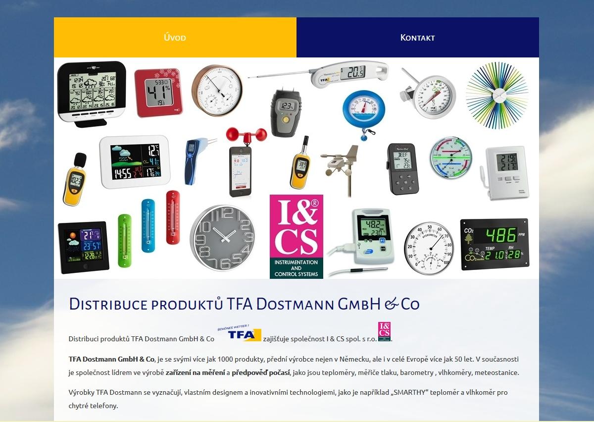 prodej přístrojů TFA- Dostmann