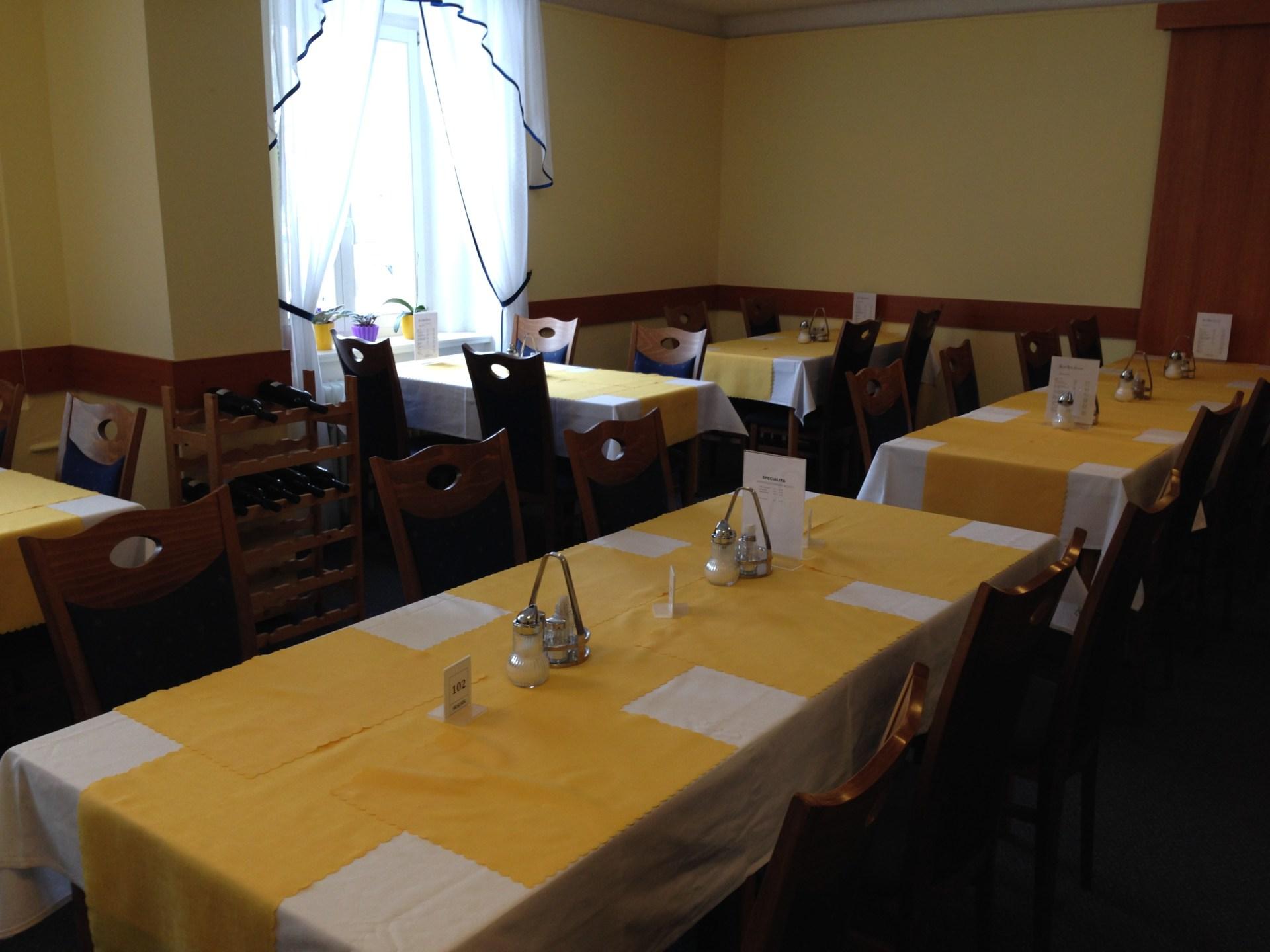 Restaurace v Mariánských Lázních