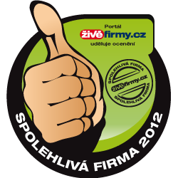 Spolehlivá firma 2012