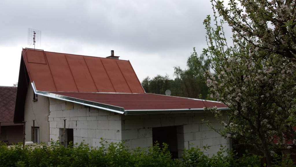 Přístavba chaty Podhrad