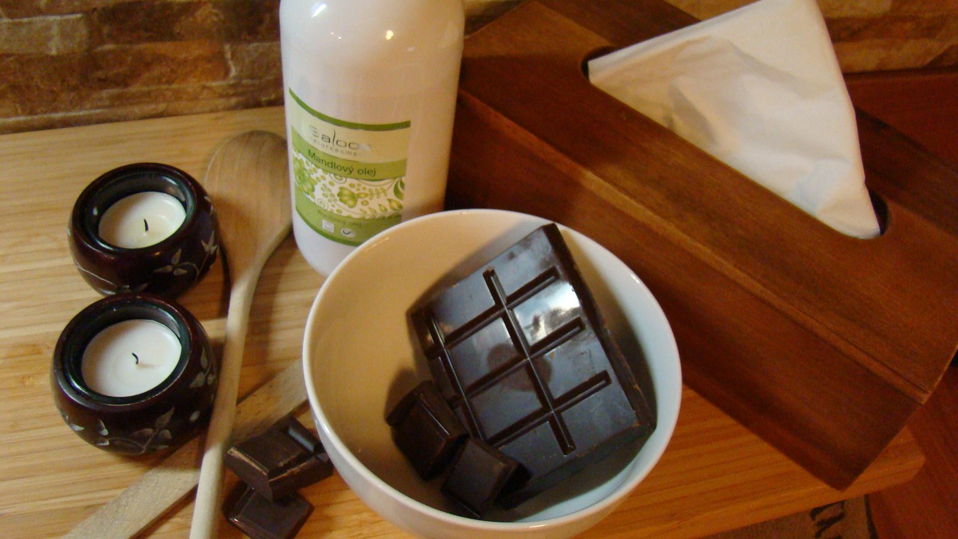 Čokoládová masáž de Luxe