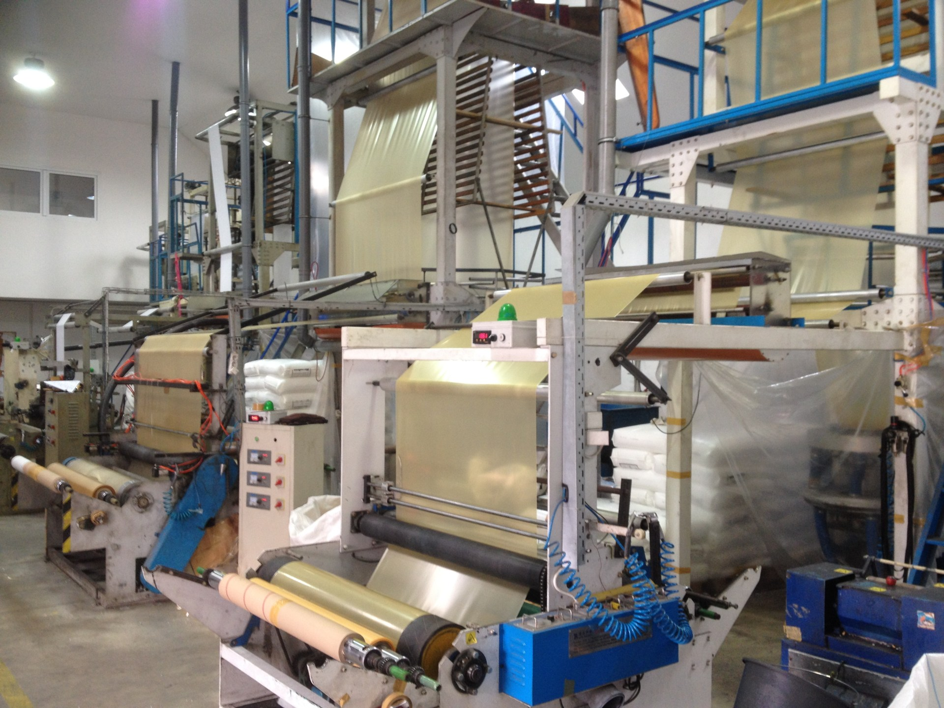 machine for packaging production