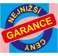 logo raazítka nejnižší garance ceny