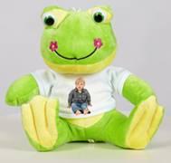 Velký plyšák - žabák s trikem