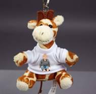 dětská klíčenka – žirafa