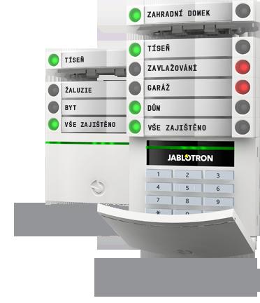 zabezpečovací systém Jablotron
