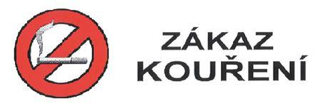 Penzion Karlos Třeboň Zákaz kouření