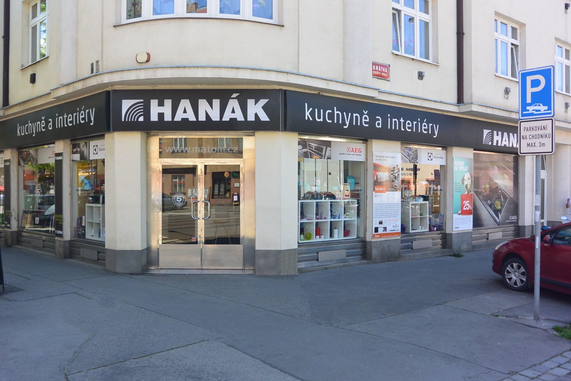 Kuchyňské studio Hanák - prodejna