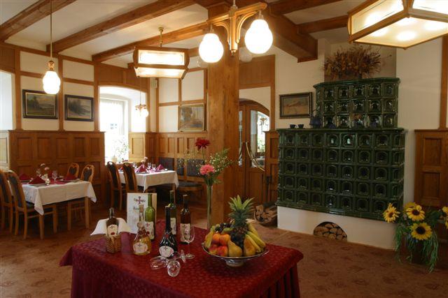 Restaurace hotelu Arnika