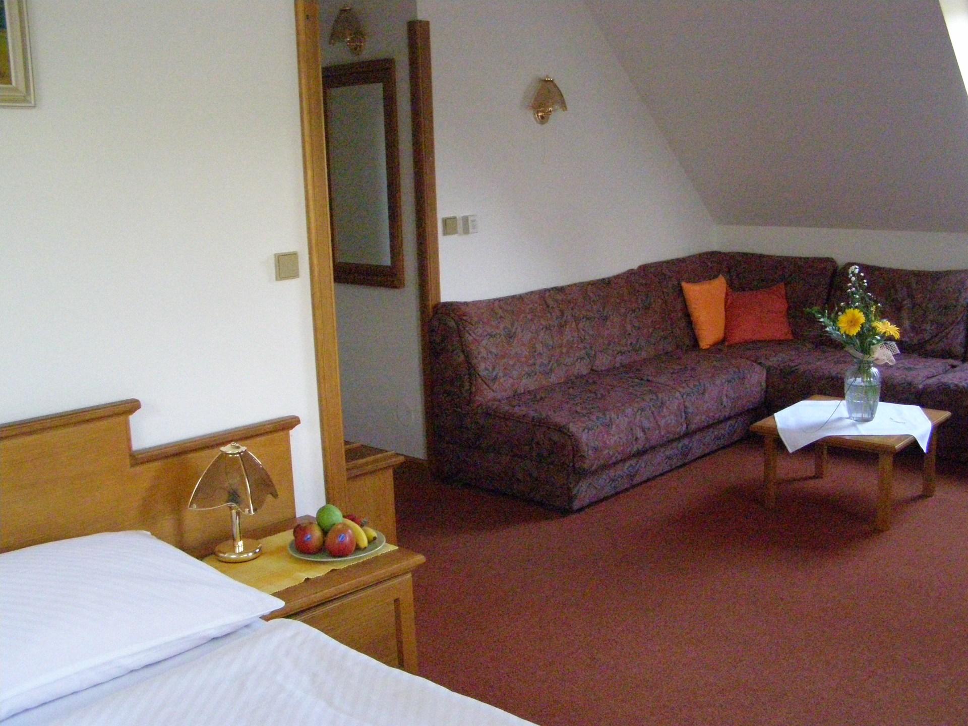 pokoj v hotelu Arnika