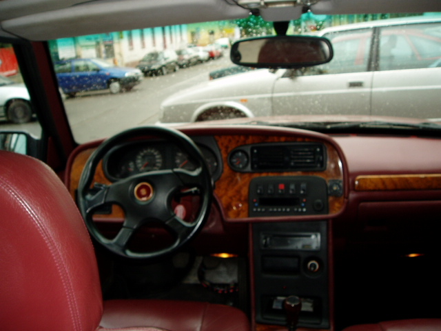 Interiér vozidla Tatra