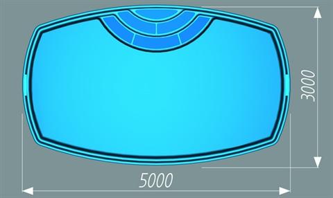 Tvar bazénu