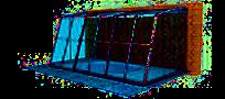 Bazénové zastřešení Terrace