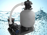 Filtrace vody v bazénu