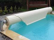 Lamelové zakrytí bazénu