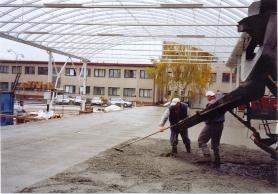 Průmyslové stavby - venkovní plochy