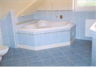 D-beton: koupelna Přeštice