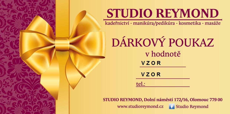 Studio Reymond dárkový poukaz