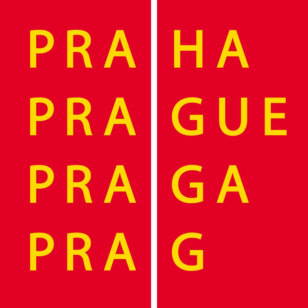 Nápisy Praha v různých jazycích v kostce