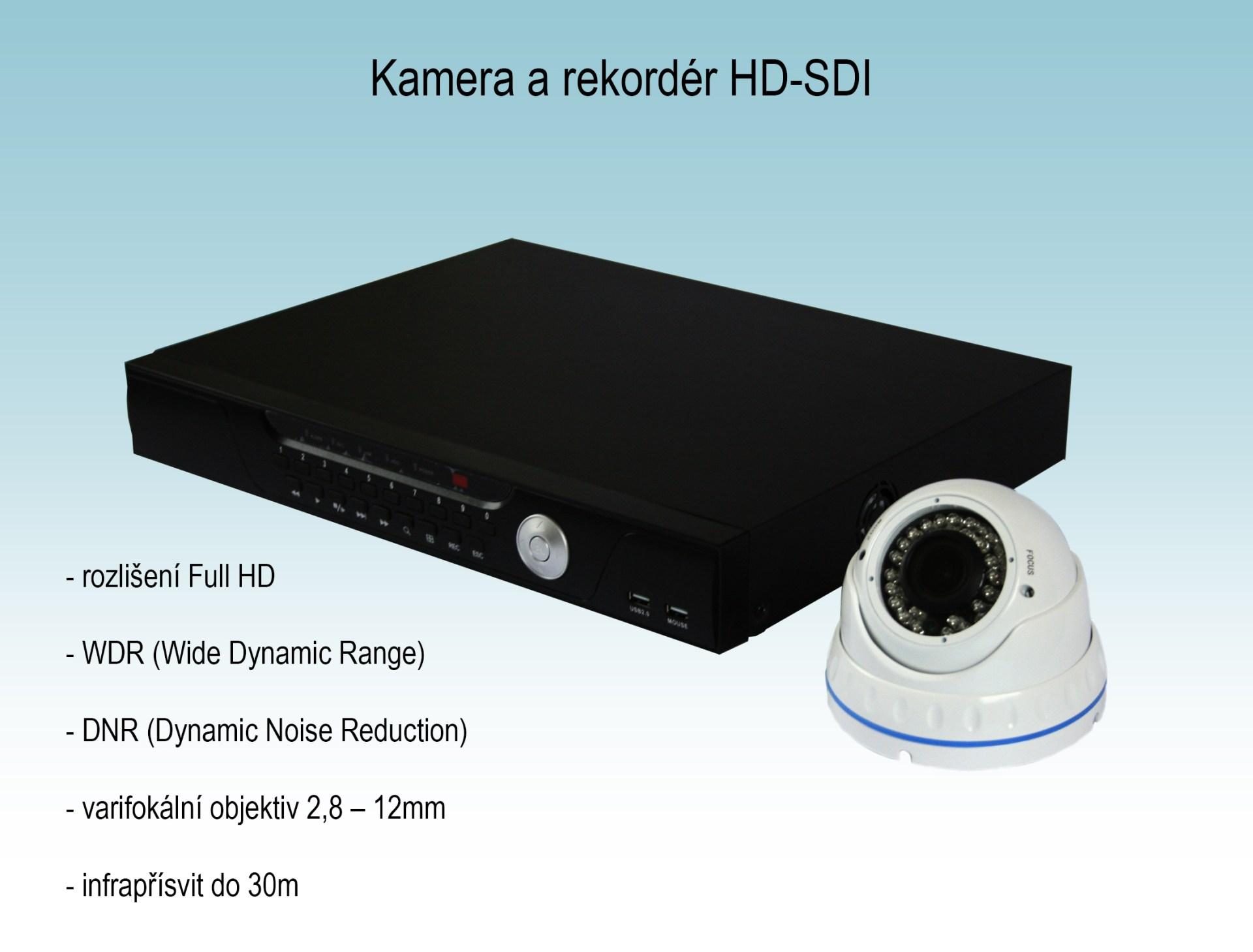 Bezpečnostní kamera a rekordér