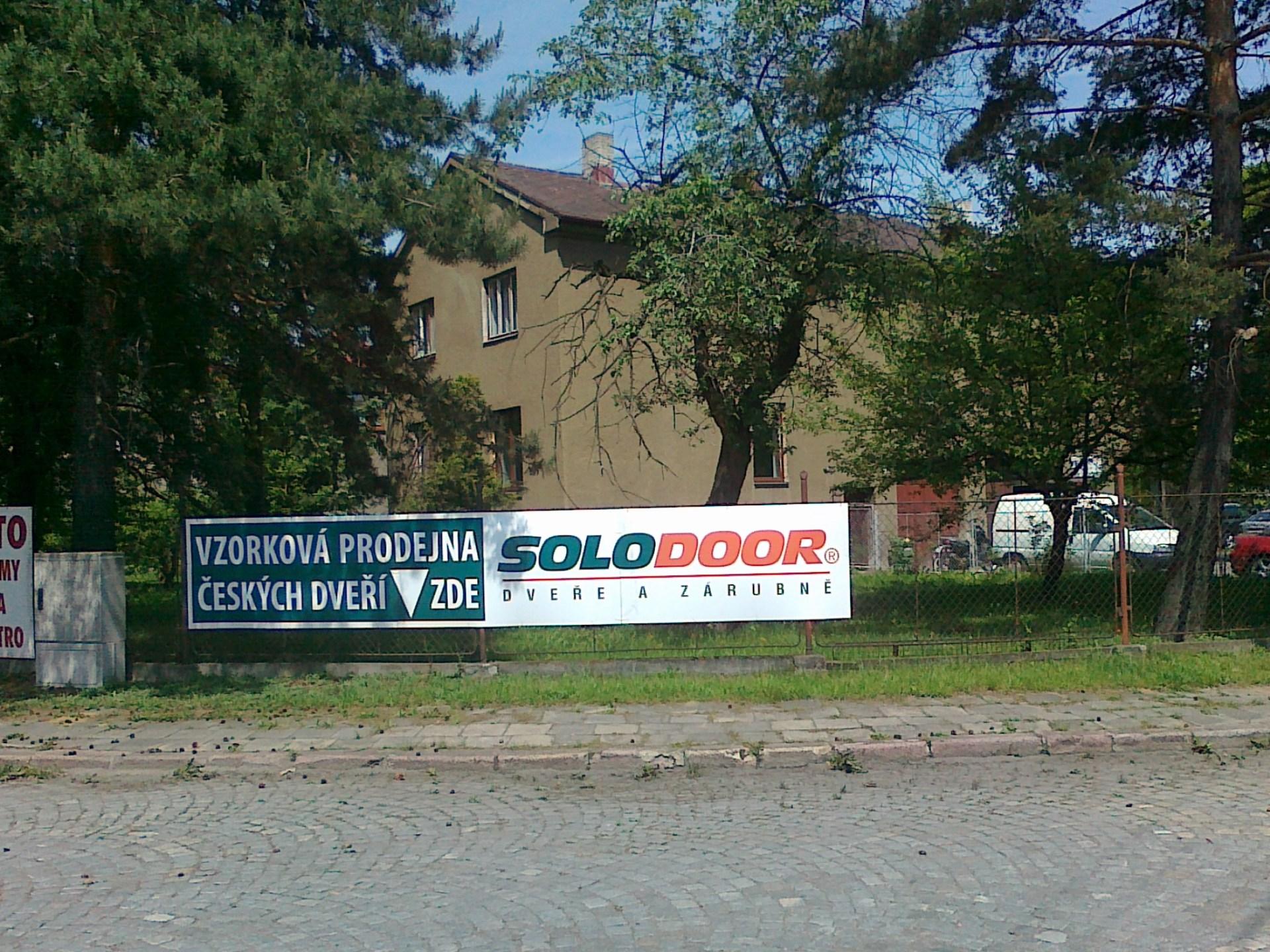 Vzorková prodejna dveří SOLODOOR Ostrava