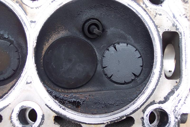 Detail ventilu