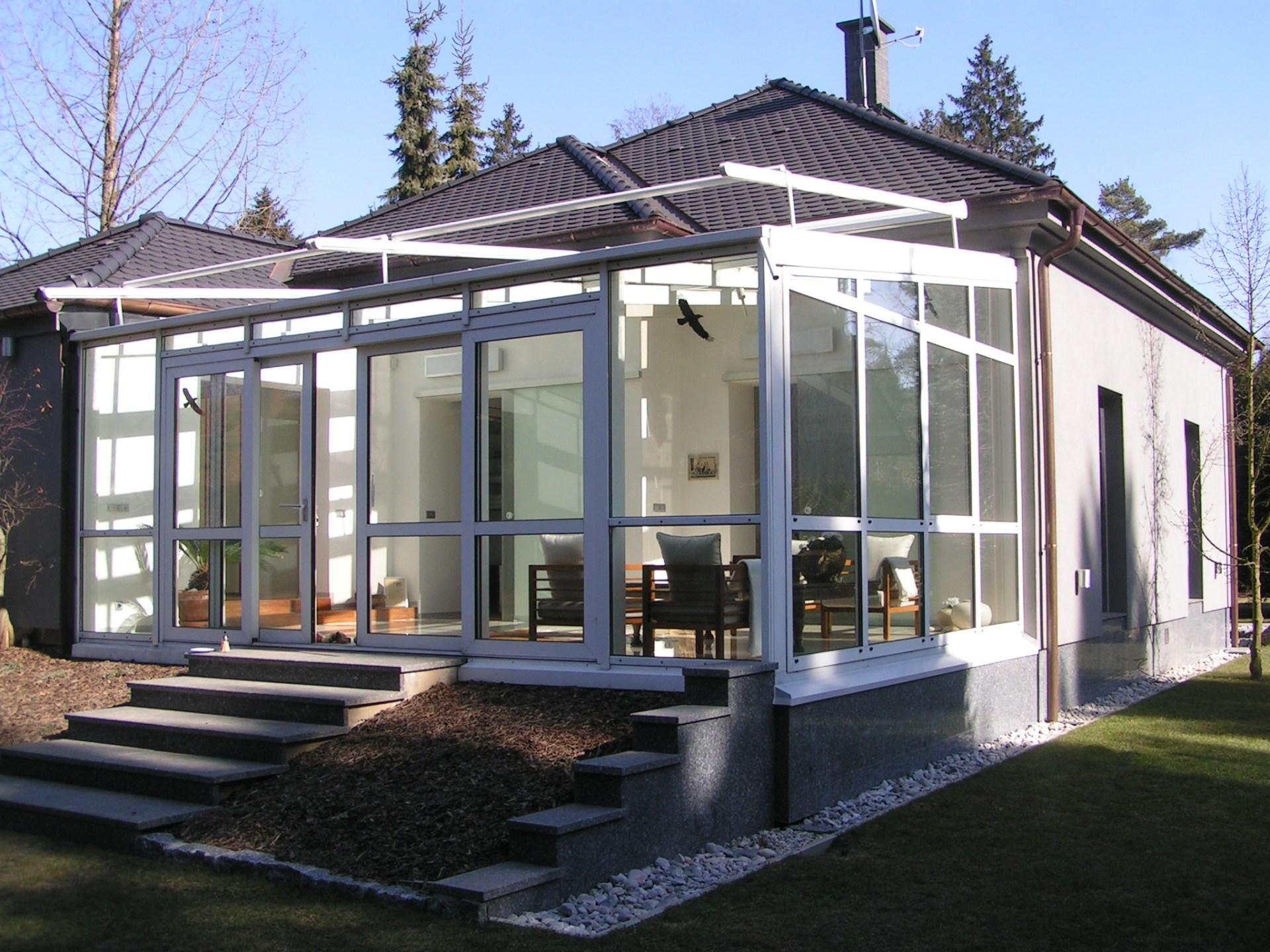 Fasády a zimní zahrady
