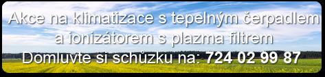 Klimatizace Ostrava, akční nabídka