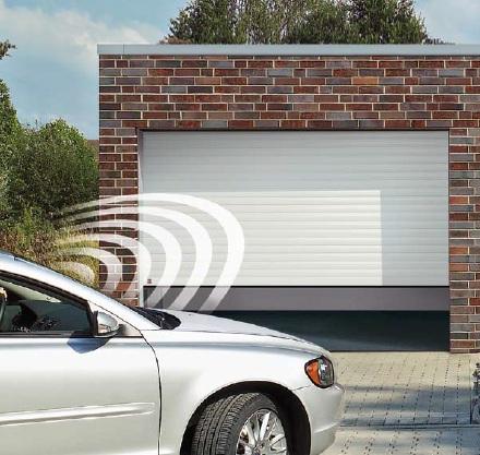 Privátní rolovací garážová vrata