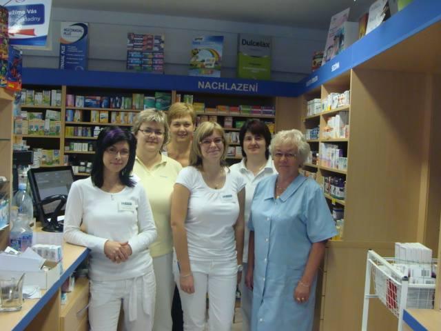 Lékárna U Hromádků, tým zaměstnanců