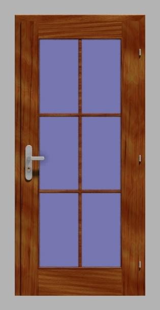 Výroba dřevěných dveře, atypický rozměr dveří