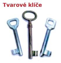 Tvarové klíče
