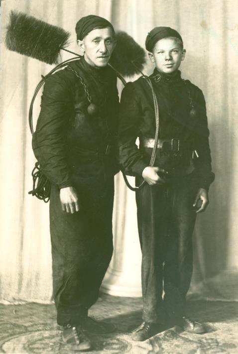 Josef Laibl se synem