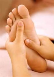 masaž chodidel
